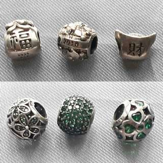 Get All 3 for 2200 Pandora Charm Sale
