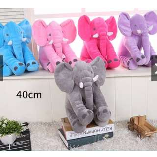 40cm Stuffed Elephant Cute Baby Kids Sleeping Soft Plush Pillow Toys