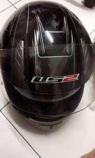 Helmet LS2 dan jacket