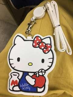 全新Kitty 伸縮 票夾 悠遊卡夾