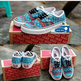 Bans authentic tribal sky blue red ori size 40 -44