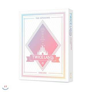 "Pre-order TWICE - ""TWICELAND"" The Opening Encore DVD / Blu-ray (6/29)"
