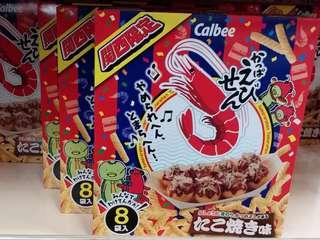 關西大阪限定calbee蝦條