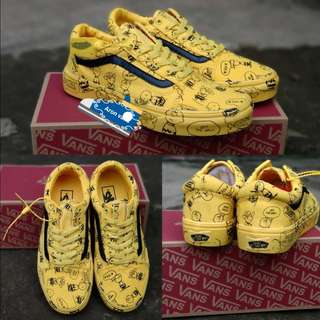 Vans os peanuts yellow 40 44