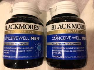 BNIB Blackmores Conceive Well For Men
