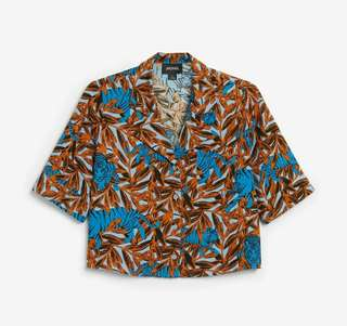 Monki Short Blouse