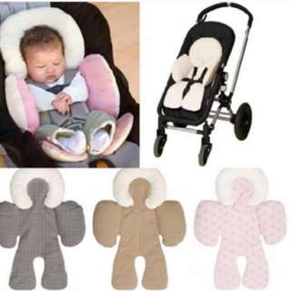 JJ Cole Head & Body Support Seat Sit Support Baby Car Seat Pillow Stroller