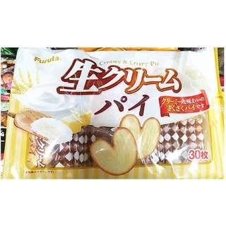 🚚 日本 古田心形奶油派