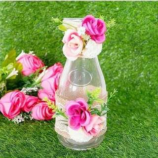 Vas bunga vase flowers pot home decoration pajangan