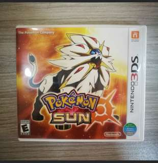 Pokemon Sun