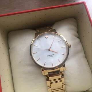 Kate Spade Gramercy Quartz Mother of Pearl Watch