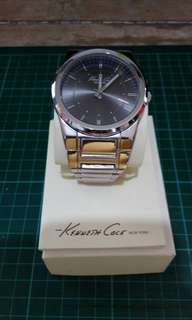 Kenneth Cole Stainless Steel Strap Watch