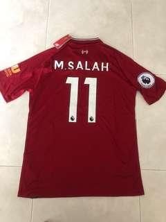 New Season 18/19 Liverpool Home Kit Jersey M Size US/EU and L Size Asia. Salah 11