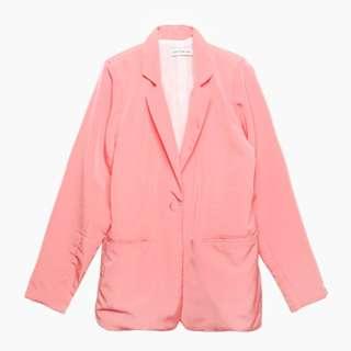 Cotton Ink Pink Blazer