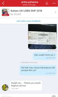 One of our testimonies :)