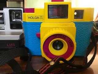 Holga limited edition tricolor camera