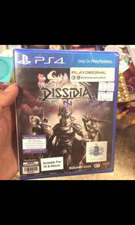 PS4 Final fantasy Dissida NT