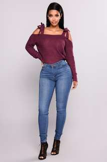 Fashion Nova Ezra Jeans Medium Wash