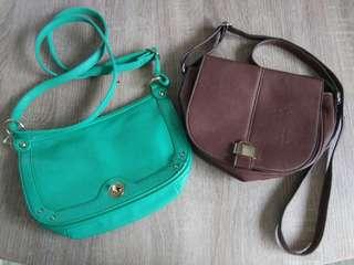 Fashion sling bag 2 set
