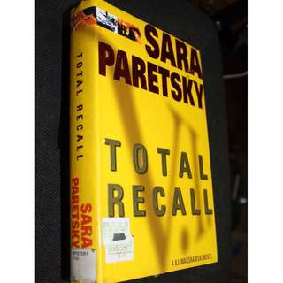 Preloved Books by  Sara Paretsky IHardbound)