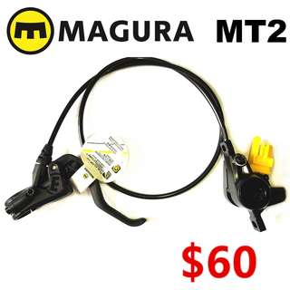 Magura MT2 Hydraulic Disc Brake (One Side Only)--------  (Magura MT4 MT5 MT5e MT6 MT7 MT8 Trail XTR M9020 XT M8020 M8000 M785 SLX M7000 M675 M315 ) DYU
