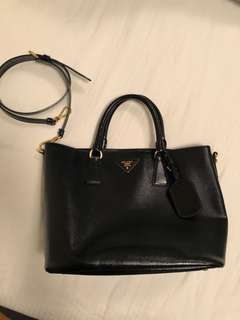 Prada leather bag - genuine and good condition
