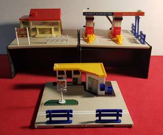 Car City Toll Gate, Gas Station, Grocery Store Bubdle