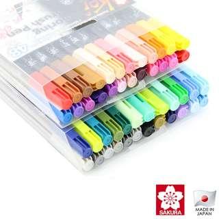 Sakura Koi Coloring Brush Pen (48 Colors Available) (List 3 / 6)