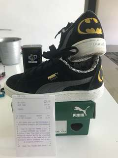 Puma Suede X Batman Kids