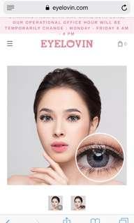 Eyelovin softlenses softlense