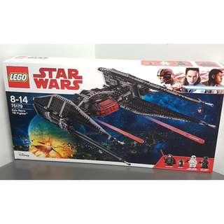 Lego 75179 Star Wars Kylo Ren TIE Fighter Silencer Last Jedi - Brand new MISB
