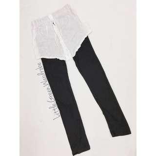 免費🆓假恤衫連Leggings 黑白色