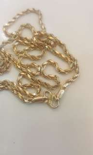 916 Gold Rope Chain..