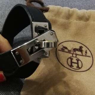 Hermes黑色手帶