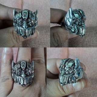 Cincin Optimus Prime Stainless Steel
