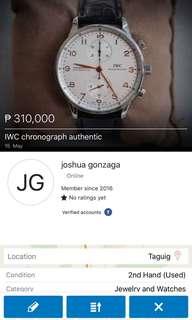 IWC chronograph