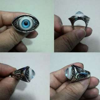 Cincin Vivid Evil Eye Stainless Steel  WA: 0818106881,       IG: zofez www.zofez-bigbikes.blogspot.com  https://sites.google.com/site/zofezbigbikes/