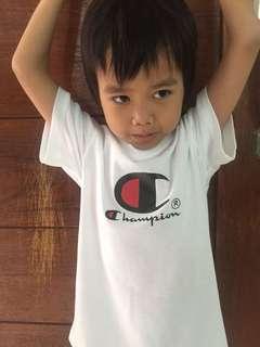 Champions tees boy kids t-shirt