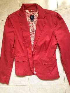 Gap pink blazer