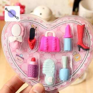 2️⃣sets forS$15♔Eraser🎀🎀Barbie makeup 2️⃣ sets for15