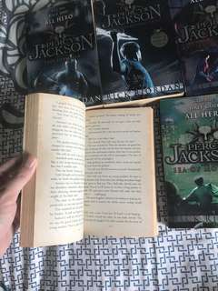 Percy Jackson series all 5 books