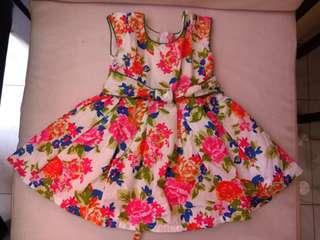 FLORAL DRESS (frm US)
