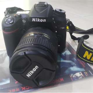 Nikon DSLR D7100 with 18-55mm & 16-85 mm lens + battery charger + bag