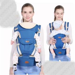 Baby Soft Carrier Blue