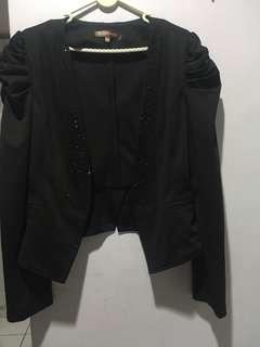 BN Glam black blazer