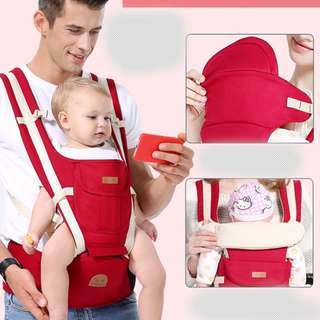 Baby Soft Carrier Red ( PT 1018-R )