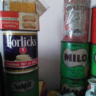 Vintage Rare Tin Horlicks