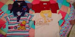 Tshirt for baby 6 - 12mths (4pcs)