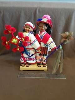 🚚 秘魯手工編織娃娃擺飾