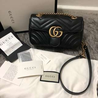 Gucci marmont mini authentic